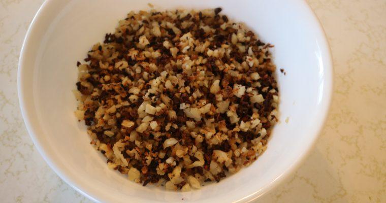 Ridiculously Easy Toasted Cauli-Rice (Whole30)