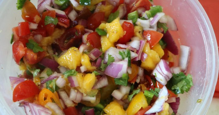 Sweet and Spicy Pico de Gallo (Whole 30)