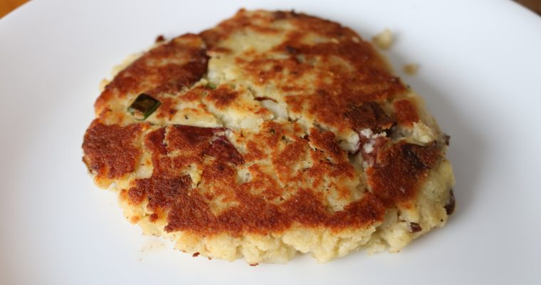 Leftover Mashed Potato Pancakes (Paleo/SWYPO Whole30/DF/GF Latkes)